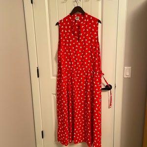 Anne Klein, dress red